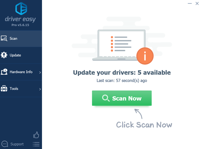 Driver-Easy-Scan-Now